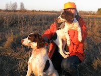 Marion with Duke and Ghillie